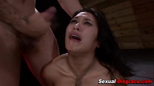 Fucked slave gets facial