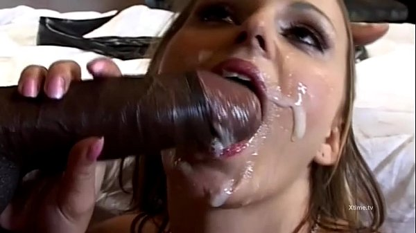 The big rocco's cock for a young brunette!