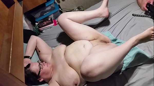 Bbw wife fucked and creampied angle 3