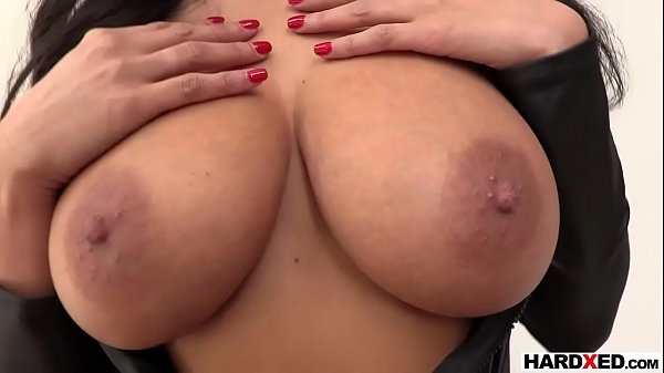 Gorgeous Anissa Kate gets ready for a rough anal fuck