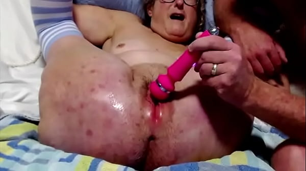 Mature Husband Ties Wife Up And Masturbates Wet Pussy Licks Her Cunt