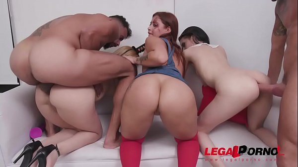 Halloween Orgy with Natasha Teen, Emily Pink & ...