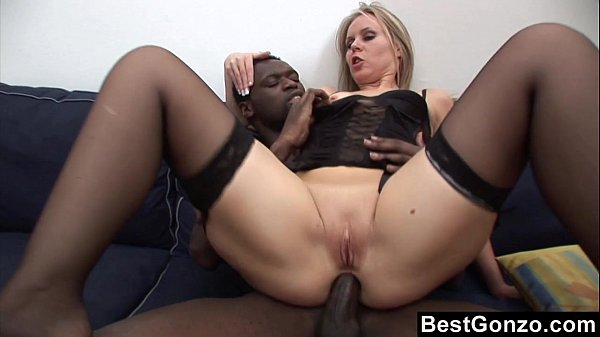 Black Dick In Her Tight Ass