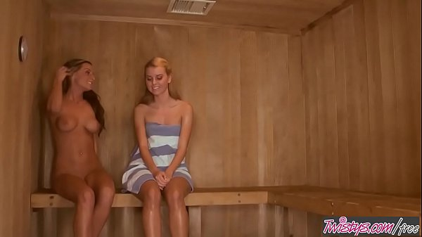 When Girls Play - (Jessie Rogers, Melissa XoXo) Love In The Sauna - Twistys Thumb