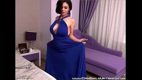 Busty Babe is a Hot Tease on Cam - CamGirlsUntamed.com