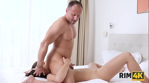 RIM4K. Muscled guy receives awesome rimjob from...