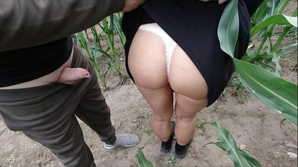risky public nature fuck in a cornfield - projectfundiary Thumb