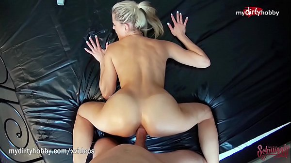 MyDirtyHobby - Amateur hot blonde public anal compilation