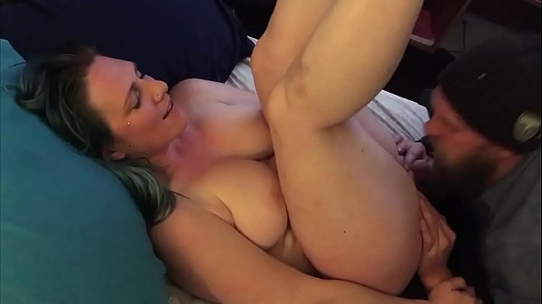 Eating Out Hairy Pussy in front of Girlfriend - BunnieAndTheDude