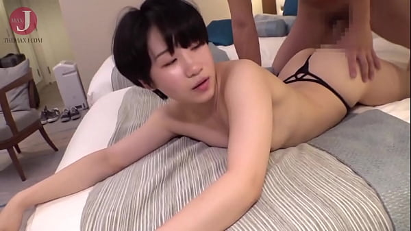 [HMHI-262] Shy Asian babe with short hair gets banged by two horny guys