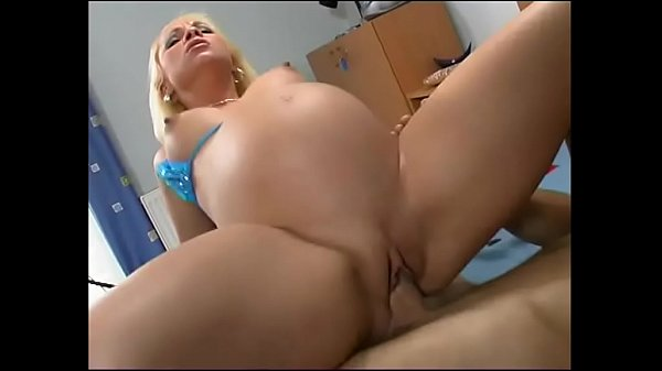 Pregnant blonde wants a big cock in her pussy! Thumb