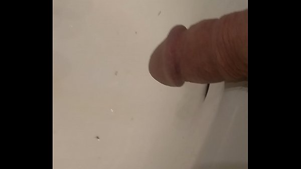 Piss in the sink with slut watching