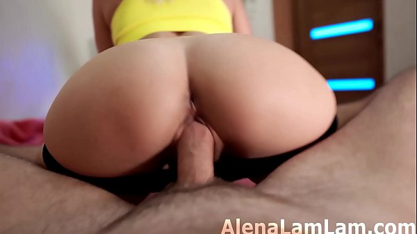MILF Cowgirl Big Dick and Cum on Big Ass