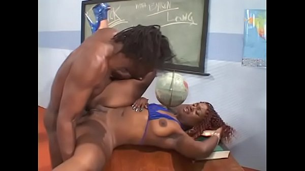 Stunning woman student throats teacher's dick and gets it on the table
