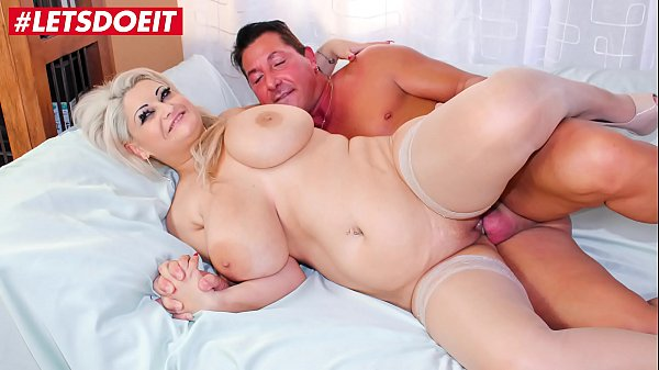 LETSDOEIT - Chubby Milf Takes a Big Load From Her Lover