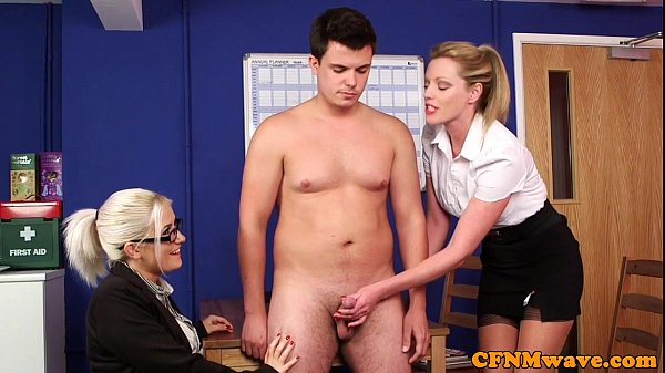 Cfnm Femdom Nurse Eden James Giving Head On Gotporn