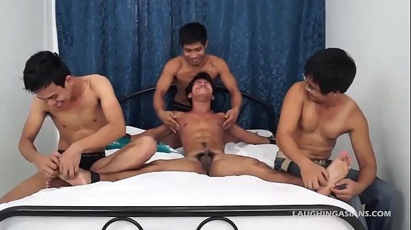 Straight Asian Boy Niko Tied And Tickled