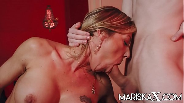 MARISKAX MILF Nikky Clarisse fucked in all three holes