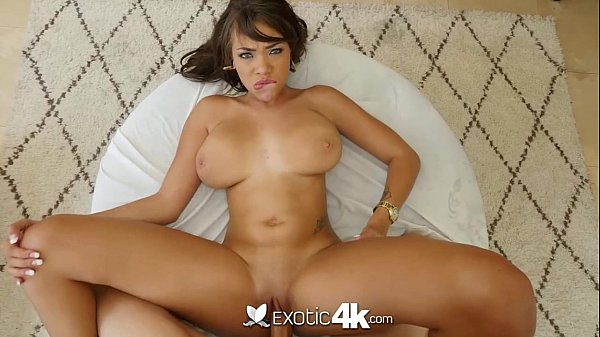 Exotic4K - Cassidy Banks gets her tits fucked