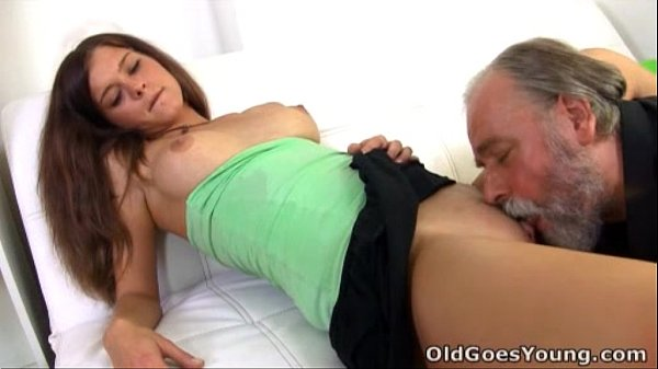 Old Goes Young - sitting on the lap of older man