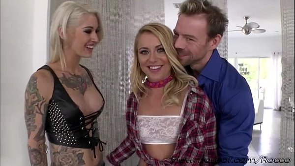 Hunk Eriks lovely girls Cameron and Kleio gets so wild