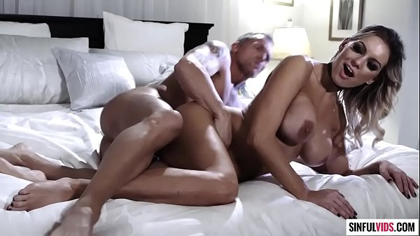 Sugar daddy fucks his awesome girlfriend Kenzie Taylor - Love Song Scene 3