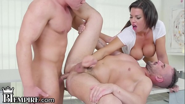 BiEmpire BiSexual Stepdad Enjoys Hot Son & His Busty Lady