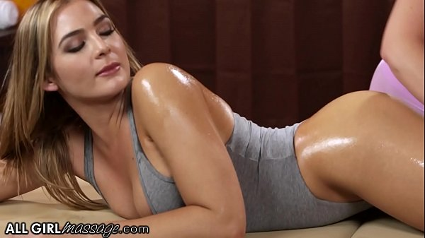AllGirlMassage Smokin' Hot Blair Williams Gets A Oiled Thirsty Massage Thumb