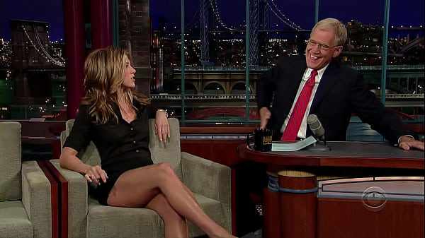 Jennifer Aniston Shows Off Her Hot Legs