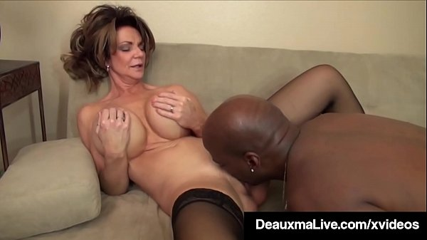 Cougar Boss Deauxma Fucked By Big Black Cock Employee!