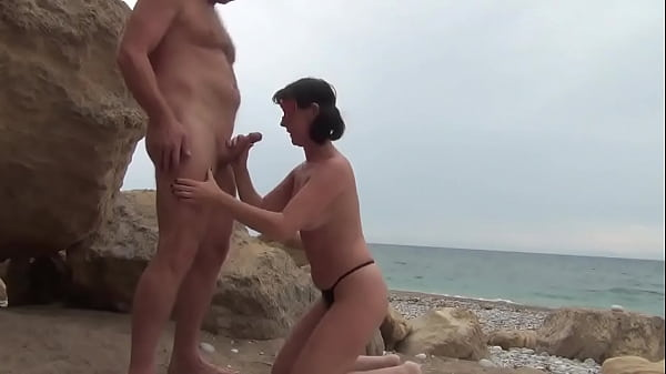 Horny Mature Couple On Nudist Beach Sex Affair