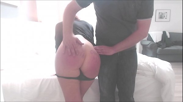 Hard Spanking on Webcam Thumb