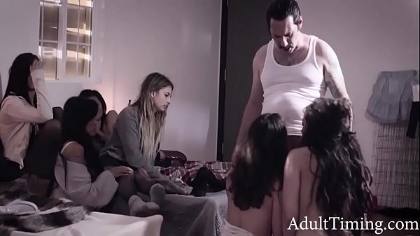 Corrupt Evil Cop Fucks Teen Orphanage Sluts- - Ashley Adams