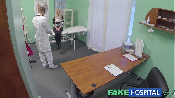 Fake Hospital Hot blonde gets the full doctors treatment Thumb