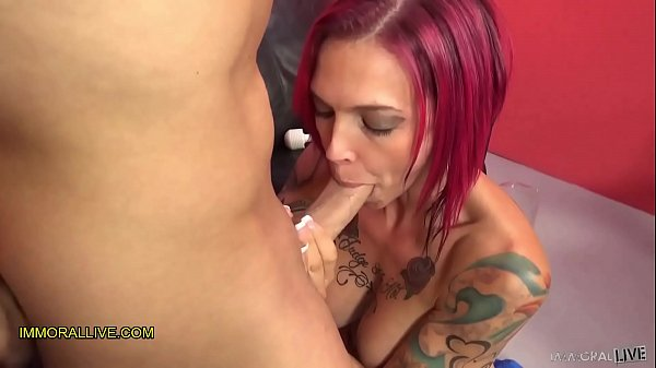 ANNA BELL PEAKS GUSHES LIKE A GEYSER! - PERFECT BODY TATTOOED MILF SQUIRTS HER SWEET NECTAR - Part 4