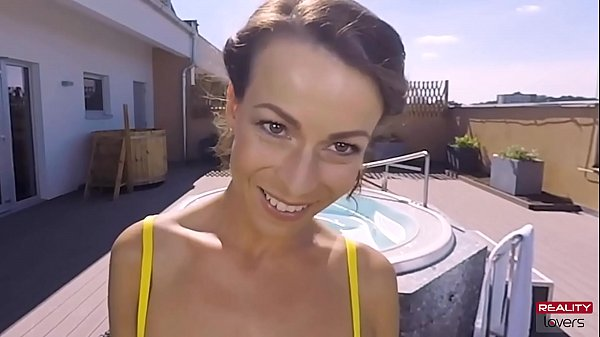 Hot Outdoor Jacuzzi Sex in POV Thumb
