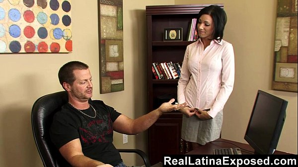 RealLatinaExposed - Naughty Latina Fucked in the Office Thumb