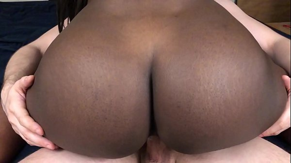 Black Teen Rides White Guys Dick And Gets Creampied