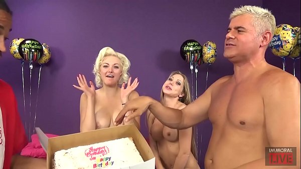 Jenna Ivory Celebrates her BIRTHDAY with a HOT THREESOME w Shawna Lenee & Porno Dan. Jenna is Marilyn Monroe Look-A-Like that Cums Like Crazy & Shawna is a Fun-Size Sex Angel!!!
