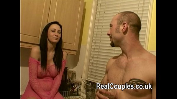 Couple talk when they met before sex