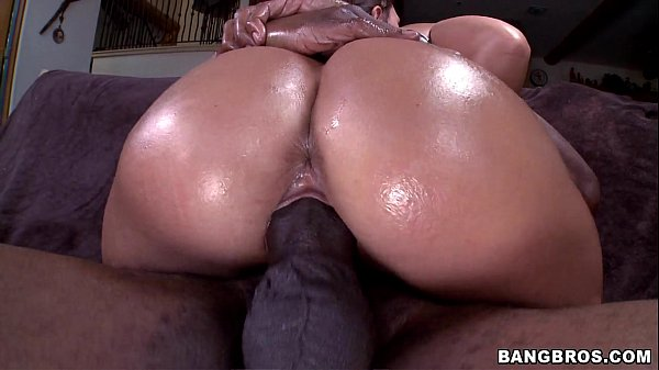 Oiled Up Babe gets BBC