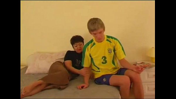 Russian-Asian Mature with Son
