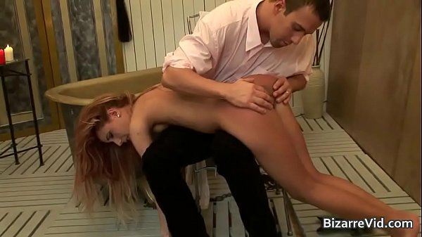 Super hot blond bitch gets butt spanked Thumb