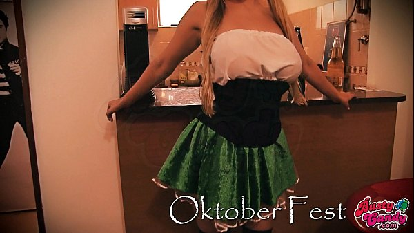 Busty Candy Celebrating Oktober Fest! Busty Big-Ass Blonde! Thumb