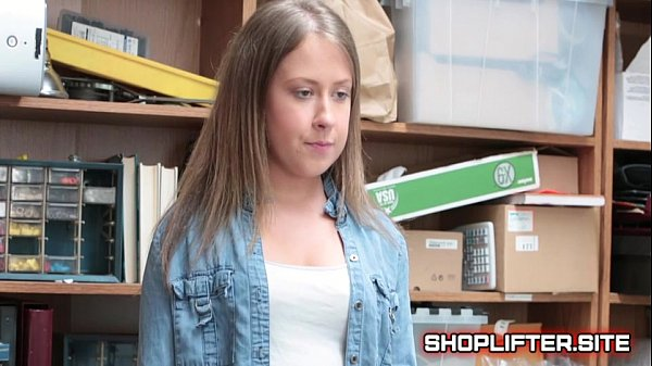 Brooke Bliss Blackmailed And Fucked By Store Detective