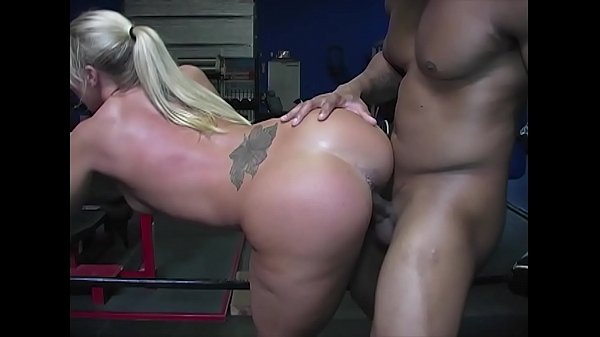 PAWG Slut Railed by Black Bull at the Gym Thumb