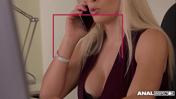 Anal inspectors get 3 cocks sucked by Vittoria Dolce in office gangbang