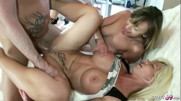 GERMAN SISTER CAUGHT STEP-BROTHER FUCK AND JOIN IN 3SOME Thumb