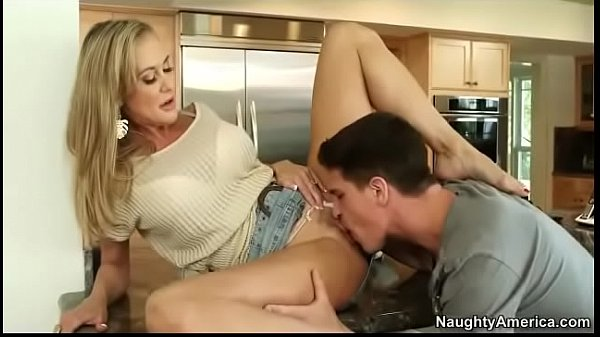 Brandi Love is eager to take his hard shaft | w...