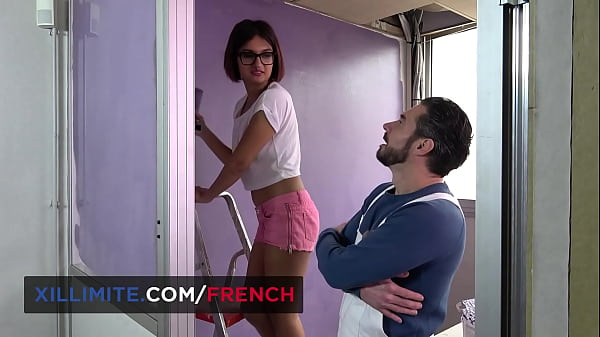 Sex with the French brunette interior decorator
